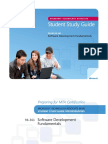 98 361 Study Guide