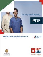 HDFC SL-ClassicAssure-Insurance-Plan.pdf