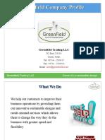 Greenfield Trading Presentation