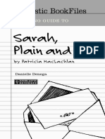 Sarah Plain and Tall Bookfile