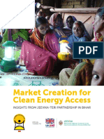 Market Creation for Clean Energy Access