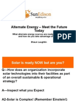 Hospitality Lawyer with Stuart Brodsky of Sun Edison on what alternate engery sources are ready for you now and how you can take advantage of them