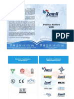 Products Brochure 2011