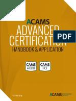 Advanced Certification Handbook Final 07-15-2015