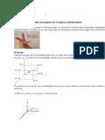 Espacios Tridimensionales-Algebra de Vectores