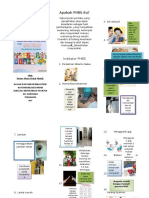 Leaflet PHBS sosial