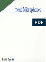 Acoustics ffand Vibrations - Acoustical Measurement - Measurement Microphones - Bruel & Kjaer Primers