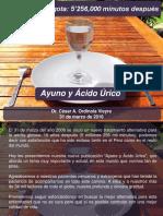 01010012. Ayuno y Acido Urico