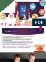 M Commerce Ppt