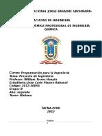Proyecto Valeria