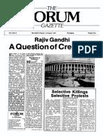 The Forum Gazette Vol. 2 No. 15 August 5-19, 1987