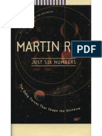 1999 - Just Six Numbers, The Deeps Forces That Shape Our Universe