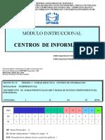 Modulo Centros de Informacion