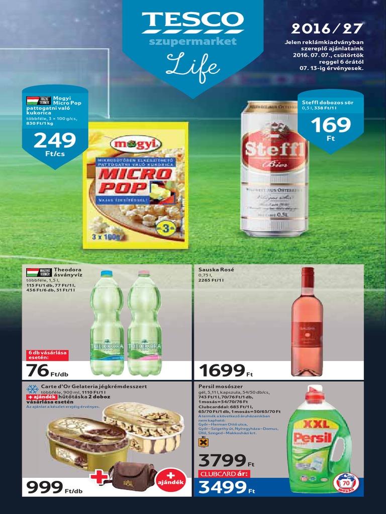 Tesco Akcios Ujsag Szupermarket 20160707 0713 5f82e0a6b6