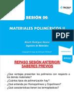 Materiales Poliméricos II Sesión 06