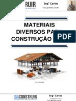 Materiais Diversos para Construção Civil