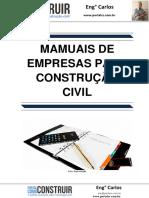 Manuais de Empresas para Construção Civil
