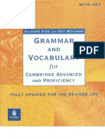 Grammar and Vocabulary for CAE & CPE