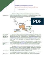 Las Civilizaciones Indígenas Más Famosas Los Mayas, Los Aztecas y Los Incas