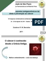 Impacto de compostos antigenotóxicos da dieta e prevenção ao câncer