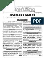 Normas Legales Del Dia 03 de Julio Del 2016