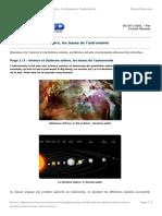 2 Univers Systeme Solaire Bases Astronomie