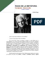 Derrida - LA RETIRADA DE LA METÁFORA.doc
