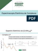 espectro eletronico molecular