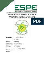 Practica n1 Instrumentacion
