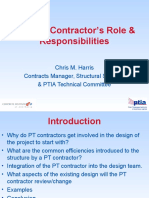 DC PT Contractors Role Responsibilities PTIA IEAust Newcastle