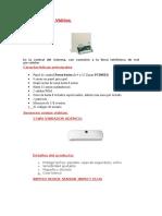 Sensor Rompe Vidrios