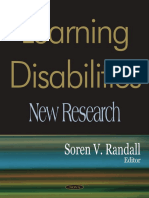 2006 - Learning Disabilities - New Research