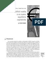 La dificil vuelta a un equilibrio capitalista.pdf
