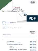 Taller Auditoría SAP ERP - Marzo 2014