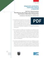 Integración Productiva, Restricción Externa y Desarrollo