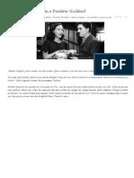 A História de Chaplin e Paulette Goddard