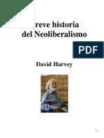 Breve Historia Del Neoliberalismo de David Harvey (1)
