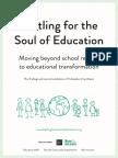 Battling for the Soul of Education