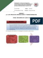 Proyectos Resumen 8-9