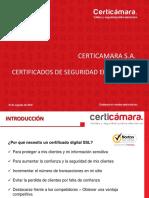 Certificados de Seguridad en Redes SSL