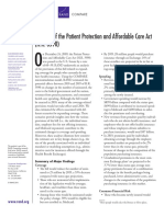 Rand (2010) - Analysis of the Patient Protection and Affordable Care Act