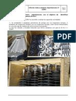Informe Visita a Almacén Importaciones LT 220kV