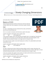 Datastage – Slowly Changing Dimensions _ Talentain