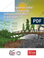 Brechas y puentes entre la política fiscal y las energías renovables
