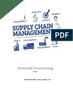 Demand Forecasting Report