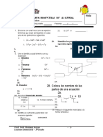 II Exam Bimestral 3ro Dora