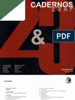 Eng Jorge Manuel Viana - Cadernos ESAP 2&3
