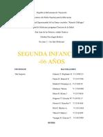 Tema 9. La Segunda Infancia 03 - 06 Años (1)