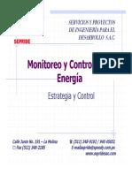 Monitoreo y Control de La Energia