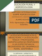 Educacion Rural y Agroecologia